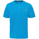 The North Face M's Reaxion Amp Crew Shirt Hyper Blue Heather